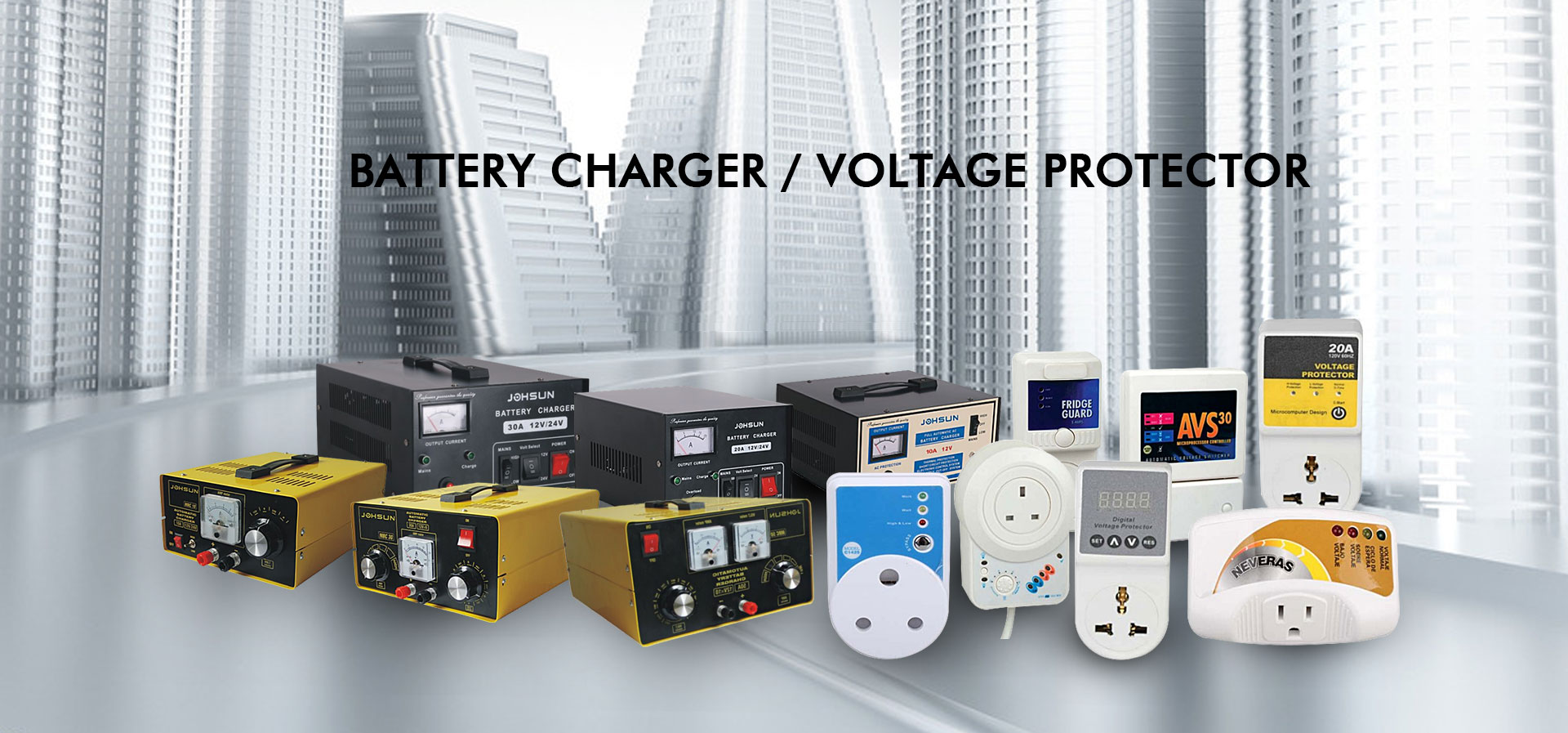 battery charger voltage protector